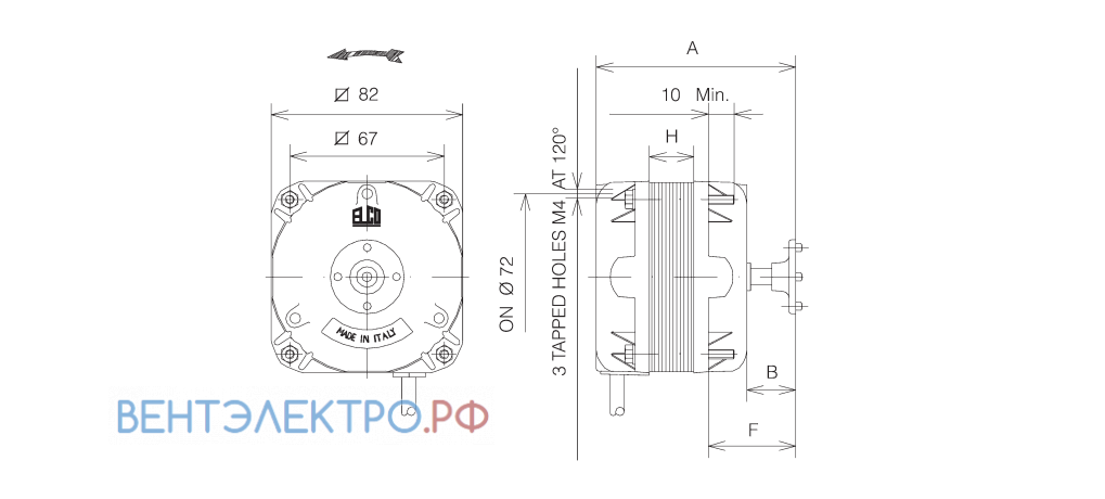 Установочные размеры ELCO NET1T10ZVN002 с экранированными полюсами