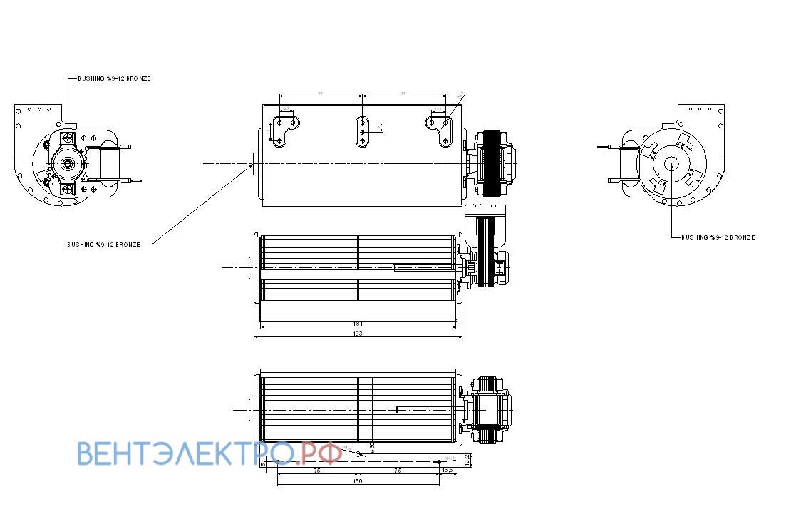 Исполнение и схема Rotech SP-20-AF.001