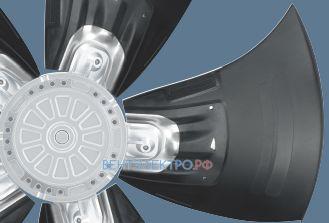 Осевые вентиляторы Hyblade Ebmpapst AC и DC